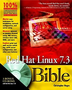 Red Hat Linux 7.3 Bible-cover