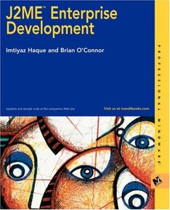 J2ME Enterprise Development-cover