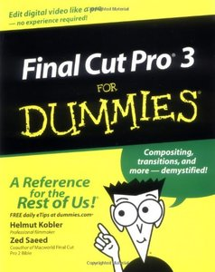 Final Cut Pro 3 For Dummies-cover