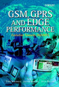 GSM, GPRS and EDGE Performance: Evolution Toward 3G/UMTS-cover