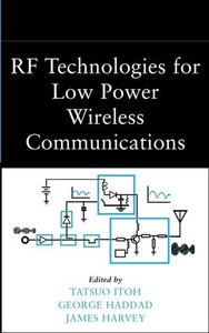 RF Technologies for Low-Power Wireless Communications-cover