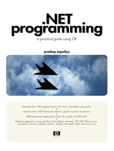 .NET Programming: A Practical Guide Using C# (Paperback)-cover
