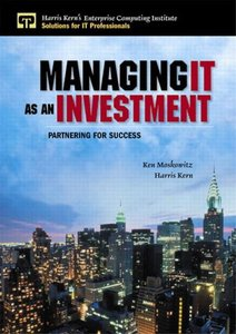 Managing IT as an Investment: Partnering for Success-cover