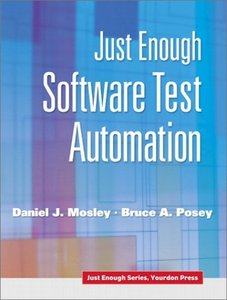 Just Enough Software Test Automation-cover