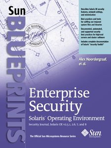 Enterprise Security: Solaris Operating Environment, Security Journal, Solaris OE-cover