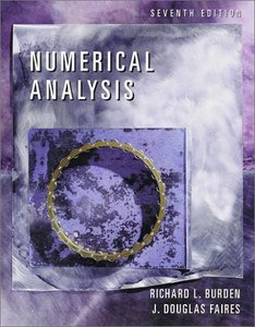 Numerical Analysis, 7/e-cover