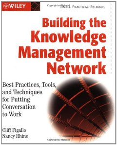 Building the Knowledge Management Network: Best Practices, Tools, and Techniques