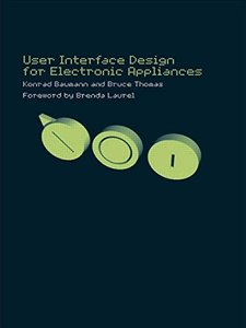 User Interface Design for Electronic Appliances-cover