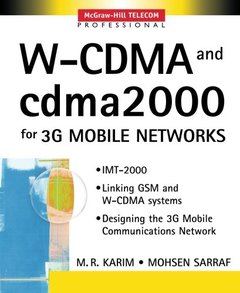 W-CDMA and cdma2000 for 3G Mobile Networks-cover