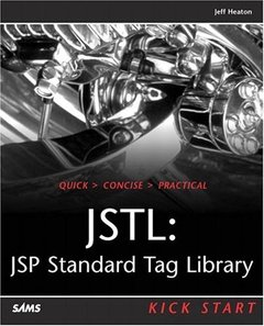 JSTL: JSP Standard Tag Library Kick Start-cover