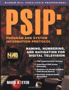 PSIP: Program & System Information Protocol-cover