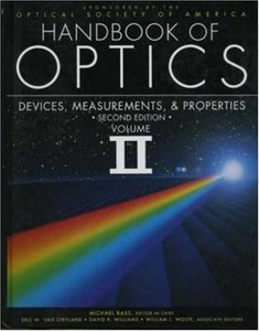 Handbook/Optics V2, 2/e
