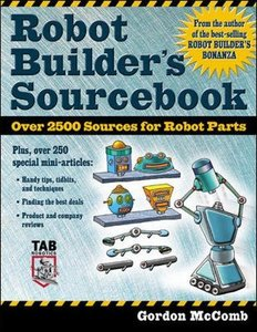 Robot Builder's Sourcebook (Paperback)-cover