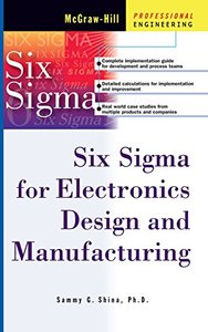 Six Sigma for Electronics Design and Manufacturing-cover