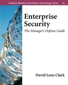 Enterprise Security: The Manager's Defense Guide-cover