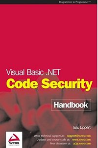 Visual Basic .NET Code Security Handbook-cover