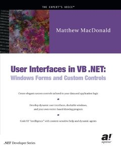 User Interfaces in VB.NET: Windows Forms and Custom Controls-cover