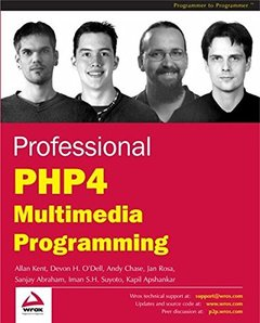Professional PHP4 Multimedia Programming-cover