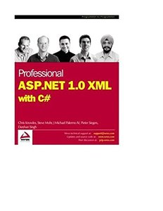 Professional ASP.NET 1.0 XML with C#-cover