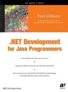 .NET Development for Java Programmers-cover