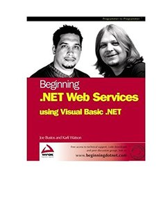 Beginning .NET Web Services with VB.NET-cover