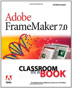 Adobe FrameMaker 7.0 Classroom in a Book-cover