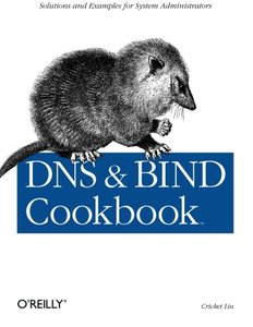 DNS and BIND Cookbook-cover