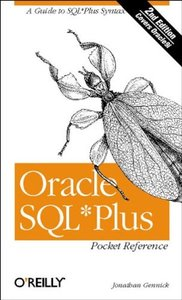 Oracle SQL*Plus Pocket Reference, 2/e-cover