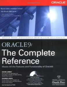 Oracle9i: The Complete Reference (Paperback)-cover