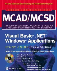 MCAD/MCSD Visual Basic.NET Windows Applications Study Guide (Exam 70-306)-cover