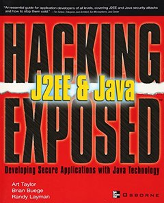 Hacking Exposed J2EE & Java-cover