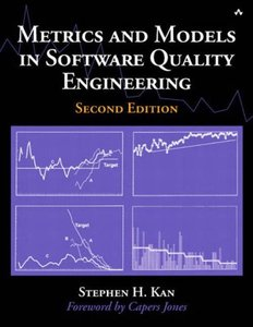 Metrics and Models in Software Quality Engineering, 2/e (Hardcover)-cover