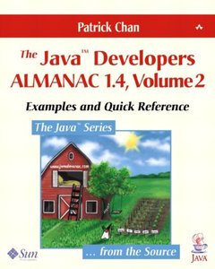 The Java Developers Almanac 1.4, Volume 2: Examples and Quick Reference, 4/e-cover