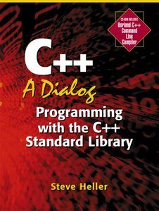 C++ : A Dialog: Programming with the C++ Standard Library (Paperback)-cover