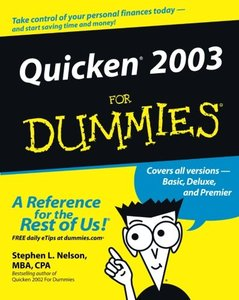 Quicken 2003 For Dummies-cover