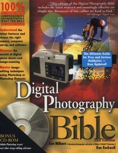 Digital Photography Bible, 2/e (Paperback)-cover
