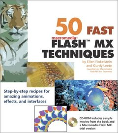 50 Fast Flash MX Techniques-cover