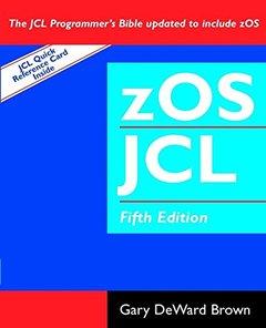 zOS JCL, 5/e (Paperback)-cover