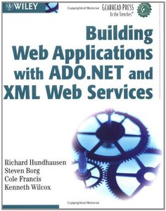 Building Web Applications with ADO.NET and XML Web Services-cover