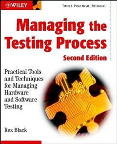 Managing the Testing Process, 2/e-cover