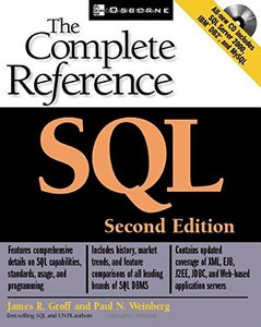 SQL: The Complete Reference, 2/e-cover