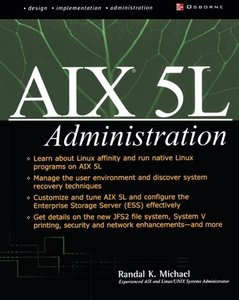 AIX 5L Administration (Paperback)-cover