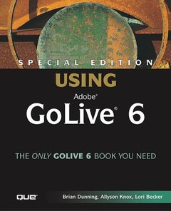 Special Edition Using Adobe GoLive 6 (Paperback)-cover