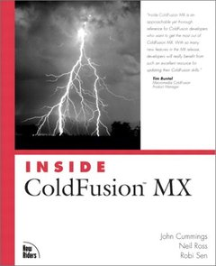 Inside ColdFusion MX (Paperback)-cover