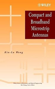 Compact and Broadband Microstrip Antennas (Hardcover)-cover