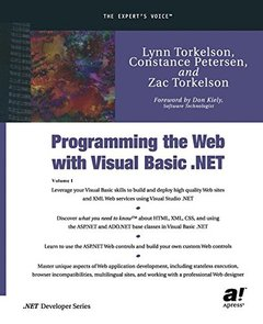Programming the Web with Visual Basic .NET-cover