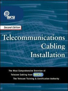 Telecommunications Cabling Installation, 2/e-cover