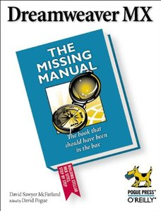 Dreamweaver MX: The Missing Manual-cover