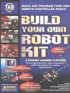 Build Your Own Robot Kit-cover