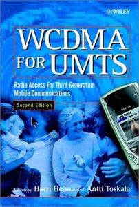 WCDMA for UMTS, 2/e-cover